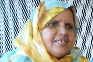 رئيسة جهة نواكشوط السيدة فاطمة منت عبد المالك